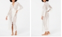 INC International Concepts INC Ivory Lace Wrap Robe, Created for Macy's
