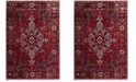 "Safavieh Vintage Hamadan Red and Multi 6'7"" x 6'-7"" Square Area Rug"