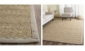 Safavieh Natural Fiber Natural and Gray 8' x 10' Sisal Weave Area Rug
