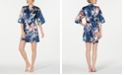 Flora by Flora Nikrooz Tish Floral-Print Charm Wrap Robe
