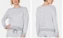 Alfani Ultra Soft Crewneck Pajama Top, Created for Macy's