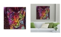 "Trademark Global Dean Russo 'Abyssinian' Metal Art - 16"" x 16"" x 0.125"""