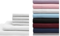 Elite Home King Microfiber Solid Sheet Set with Bonus Pillowcases