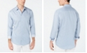 INC International Concepts I.N.C. Men's Vertical Striped Shirt, Created for Macy's