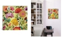 "iCanvas ""Nasturtiums"" By Kim Parker Gallery-Wrapped Canvas Print - 26"" x 26"" x 0.75"""