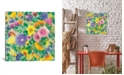 """iCanvas """"April Garden Ii"""" By Kim Parker Gallery-Wrapped Canvas Print - 18"""" x 18"""" x 0.75"""""""