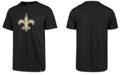 '47 Brand Men's New Orleans Saints Logo Imprint Club T-Shirt