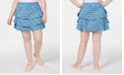 Ideology Plus Size Coastal Space-Dyed Tennis Skort, Created for Macy's