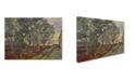"Trademark Global Van Gogh 'The Garden Bench At Saint Pauls Hospital' Canvas Art - 32"" x 24"" x 2"""