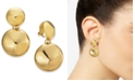 Charter Club Polished Ball Drop Clip-On Earrings, Created for Macy's