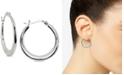 Giani Bernini Graduated Hoop Earrings in Sterling Silver, Created for Macy's