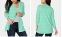 Karen Scott Pointelle-Knit Cardigan, Created for Macy's
