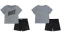 Nike Baby Boys 2-Pc. Dri-FIT T-Shirt & Shorts Set