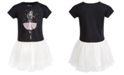 Epic Threads Little Girl Ballerina Graphic Tutu Dress, Created for Macy's