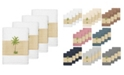 Linum Home Turkish Cotton Colton 4-Pc. Embellished Washcloth Set