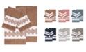 Linum Home Turkish Cotton Noah 4-Pc. Embellished Towel Set