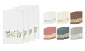 Linum Home Turkish Cotton Serenity 4-Pc. Embellished Bath Towel Set