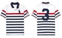 Polo Ralph Lauren Big Boys Striped Cotton Mesh Polo Shirt