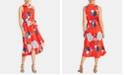 RACHEL Rachel Roy Concetta Floral-Print Tie-Waist Dress