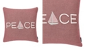 Nautica Peaceful Sailing Square Pillow