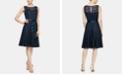 SL Fashions Sleeveless Belted A-Line Dress