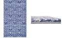 "Bridgeport Home Felipe Fel1 Blue 3' 3"" x 5' 3"" Area Rug"