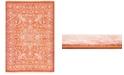 """Bridgeport Home Norston Nor1 Terracotta 8' x 11' 4"""" Area Rug"""