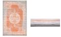Bridgeport Home Norston Nor4 Terracotta 7' x 10' Area Rug