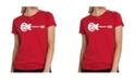 LA Pop Art Women's Premium Word Art T-Shirt - Come Together