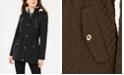 Laundry by Shelli Segal Fleece-Lined Hooded Anorak Jacket