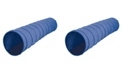 Pacific Play Tents Institutional 9Ft X 28In Tunnel - Blue/Blue