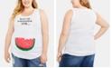 Motherhood Maternity Don't Eat The Watermelon Seeds™ Plus Size Tank Top