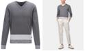 Hugo Boss BOSS Men's Jastor V-Neck Italian Pima Cotton Sweater