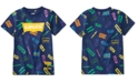 Levi's x Crayola Collection Little Boys Coloring Book Logo T-Shirt