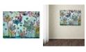 """Trademark Global Carrie Schmitt 'Flying Lotus' Canvas Art - 18"""" x 24"""""""