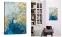 "iCanvas Ocean Splash Ii by Pi Galerie Gallery-Wrapped Canvas Print - 18"" x 12"" x 0.75"""
