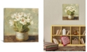 """iCanvas Hatbox Tulips by Danhui Nai Gallery-Wrapped Canvas Print - 18"""" x 18"""" x 0.75"""""""