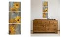 "iCanvas Yellow Gerberas Ii by Silvia Vassileva Gallery-Wrapped Canvas Print - 36"" x 12"" x 1.5"""