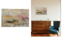 """iCanvas Luxe Galaxy by Julian Spencer Gallery-Wrapped Canvas Print - 18"""" x 26"""" x 0.75"""""""
