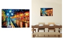 "iCanvas Blue Lights I by Leonid Afremov Gallery-Wrapped Canvas Print - 18"" x 26"" x 0.75"""