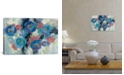 """iCanvas Day and Night Florals I by Silvia Vassileva Gallery-Wrapped Canvas Print - 12"""" x 18"""" x 0.75"""""""