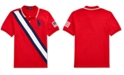 Polo Ralph Lauren Big Boys Basic Mesh Americana Polo Shirt