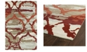 """Kaleen Brushstrokes BRS02-25 Red 9'6"""" x 13' Area Rug"""