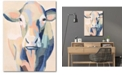 "Courtside Market Hertford Holstein II 16"" x 20"" Gallery-Wrapped Canvas Wall Art"