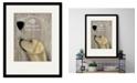 """Courtside Market Labrador Au Vin 16"""" x 20"""" Framed and Matted Art"""