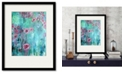 "Courtside Market Hanging Rose I 16"" x 20"" Framed and Matted Art"
