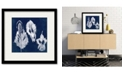 """Courtside Market Feathers 16"""" x 16"""" Framed and Matted Art"""