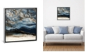 """iCanvas Midnight Wave by Blakely Bering Gallery-Wrapped Canvas Print - 18"""" x 18"""" x 0.75"""""""