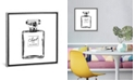 "iCanvas Black Perfume Bottle by Amanda Greenwood Gallery-Wrapped Canvas Print - 18"" x 18"" x 0.75"""
