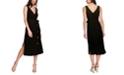 1.STATE Faux Wrap Midi Dress